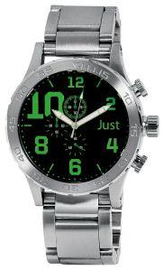 Moška ročna ura Just 48-S5543BK-GR