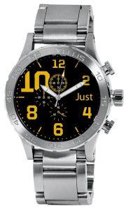 Moška ročna ura Just 48-S5543BK-YL