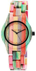 Ženska ročna ura iz bambusa Raptor RA101881