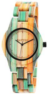 Ženska ročna ura iz bambusa Raptor RA101882