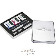 """Darilni komplet Faber-Castell """"GRIP 2011 """" set za kaligrafijo AFORUM.shop®"""