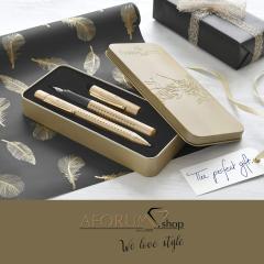 """Darilni komplet Faber-Castell """"Limited Edition"""" gold AFORUM.shop®"""