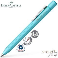"""Kemični svinčnik Faber-Castell """"Grip Pearl"""" Turquoise"""