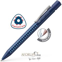"Kemični svinčnik Faber-Castell ""Grip 2010"" blue & light blue AFORUM.shop®"