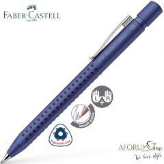 "Kemični svinčnik Faber-Castell ""Grip 2011, XB"" Blue-Metalic AFORUM.shop®"