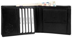 Moška usnjena denarnica Excellanc 301376 z RFID zaščito