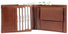 Moška usnjena denarnica Excellanc 302376 z RFID zaščito