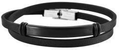 Herren Armband aus Leder Akzent A504095