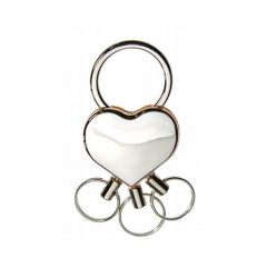 Obesek za ključe srce B0529
